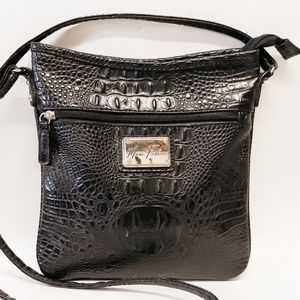 Handbags - Marc Fisher Croc Crossbody LIKE NEW!